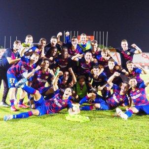 Barca B celebracio FC Barcelona