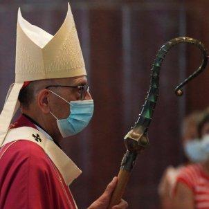 cardenal omella missa covid-19 sagrada familia - efe