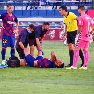 araujo barça sabadell @FCBarcelonaB