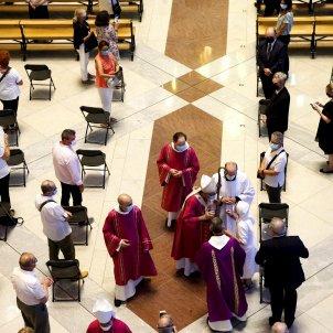 Missa coronavirus Sagrada Família EFE