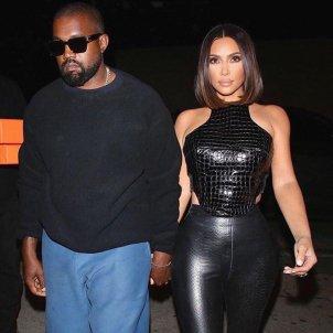 Kanye West y Kim Kardashian Instagram