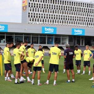 Barca entrenament FC Barcelona
