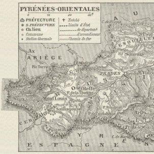 carte departement pyrenees orientales 1900 001