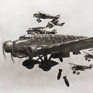 gran bombardeig guerra civil foto ufficio storico della aeuronatica militare