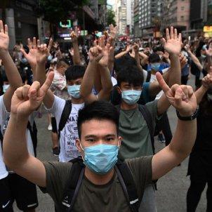Hong kong protestes EFE