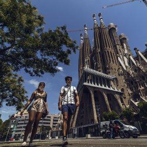 coronavirus turistes sagrada familia barcelona - europa press