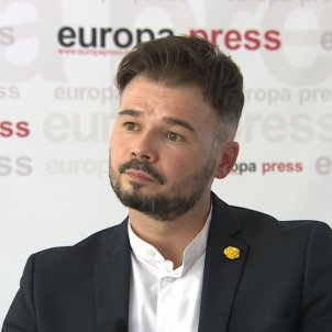 Gabriel Rufián - Europa PRess