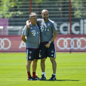 Domenec Torrent Pep Guardiola Bayern Munic EFE