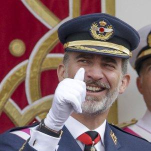 rei Felip VI vestit militar riu GTRES