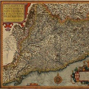 Mapa de Catalunya. 1608