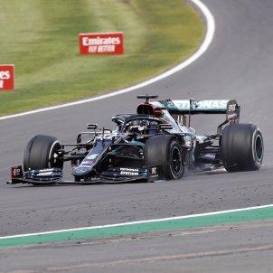 lewis hamilton victoria Silverstone EFE