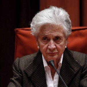 Marta Ferrusola parlament EFE