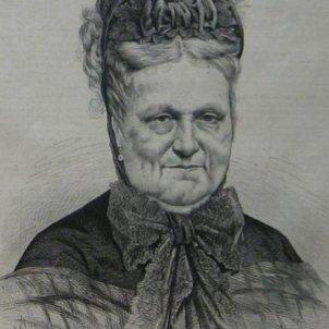 Representació de Maria Cristina de Borbó (circa 1870). Font: La Ilustración Española y Americana