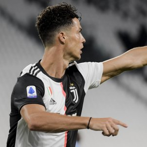 Cristiano Ronaldo assenyala Juventus EuropaPress
