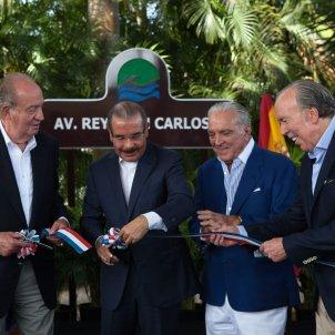 rei joan carles republica dominicana Danilo Medina Alfonso Fanjul Jose Fanjul 03 03 2015 EFE