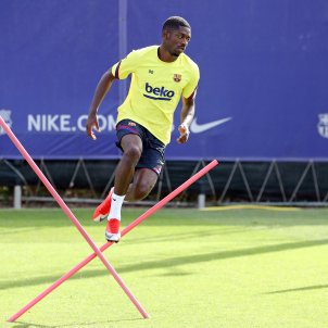 Dembele entrenament Barca FC Barcelona