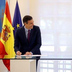 Pedro Sánchez Abel Caballero EFE