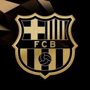 escut barça daurat @FCB