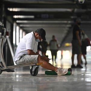 aeroport barajas Madrid coronavirus - Efe