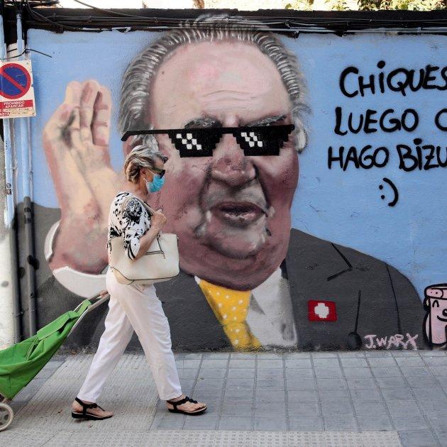 grafitti joan carles valencia efe
