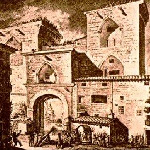 Es funda la primera galera femenina. Torres de Quart. 1618