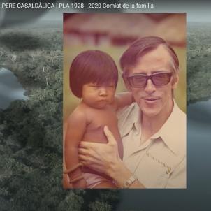 Vídeo de comiat de la família de Pere Casaldàliga