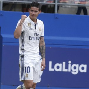 James Rodriguez EFE