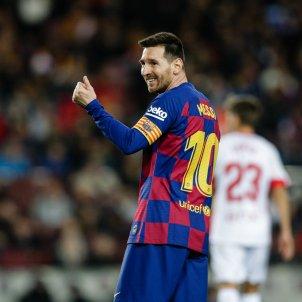 Messi riu rient Barca EuropaPress