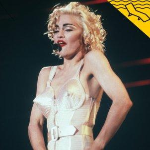 Madonna Blond Ambiton Tour Portada - EFE