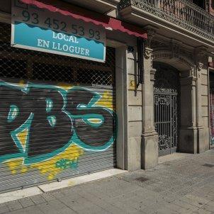 Locals i comerços botiga tancats lloguer crisi coronavirus barcelona - Sergi Alcazar