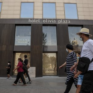 hotels tancats crisi coronavirus barcelona - Sergi Alcazar