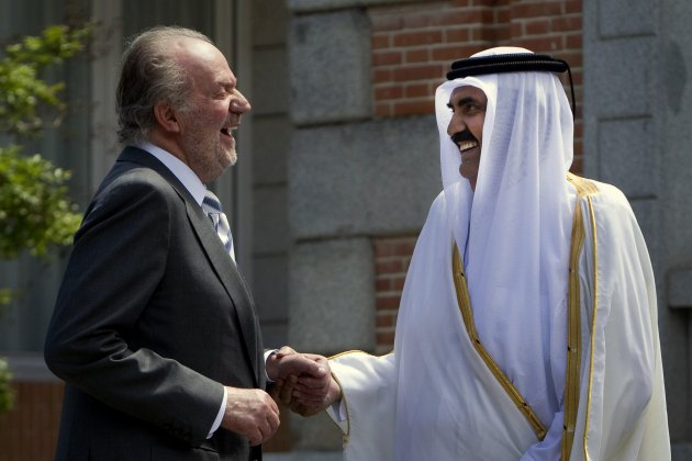 rei Joan Carles emir Qatar GTRES