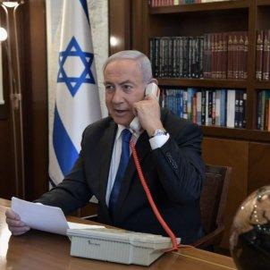 Bejamin Netanyahu acord amb Emirats PMIsrael