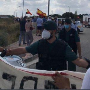 Protesta contra Reis a Menorca JEM Menorca