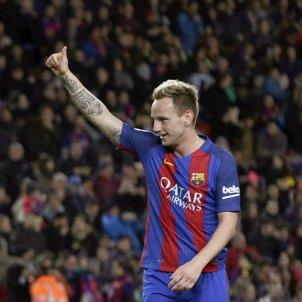 Rakitic celebracio gol Barça Celta EFE