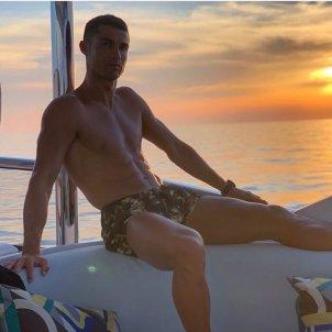 Cristiano Ronaldo platja @cristiano
