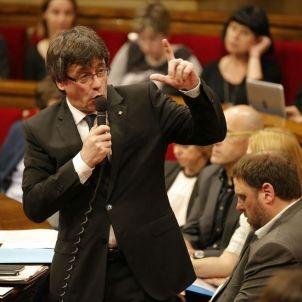 Puigdemont Parlament - Sergi Alcazar