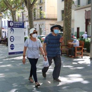 mascareta figueres mesures coronavirus - ACN
