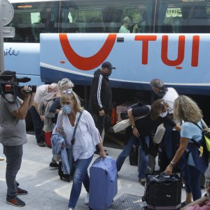 EuropaPress turistes alemanys mallorca coronavirus