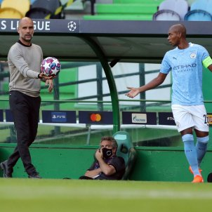 Manchester City Pep Guardiola Lio Champions EFE