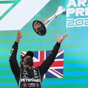 Lewis Hamilton cotxe F1 Barcelona EFE