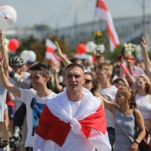 minsk protestes bielorússia efe