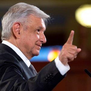 Andrés Manuel López Obrador president mexic - Efe