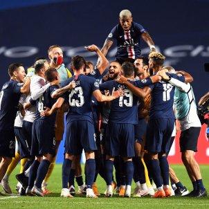 PSG celebracio leipzig champions EFE