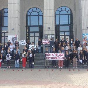 Filharmònica de Minsk vaga Arxiu