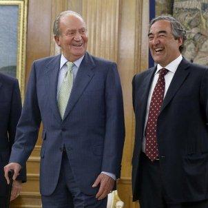 Juan Carlos CEOE Juan Rosell presidente Camara Comercio EEUU Thomas J Donohue Efe