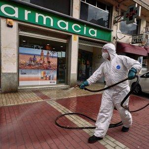 avila desinfecció coronavirus - efe