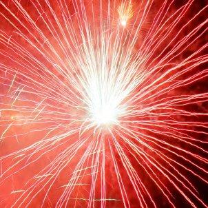 FOCS artificials rocket red orange fireworks