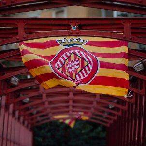 Girona senyera Foto Girona FC