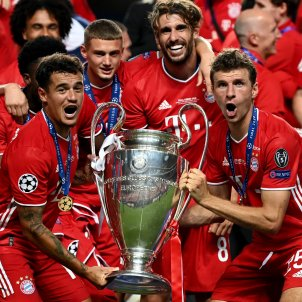 Philippe Coutinho Muller Bayern campio Champions Europa Press